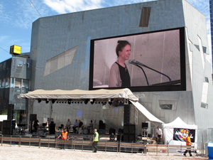Fed Square Skype conversation