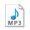 - MP3 icon